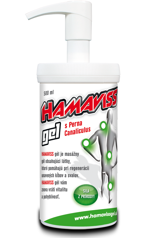 HAMAVISS gel 500 ml with batcher for pharmacies
